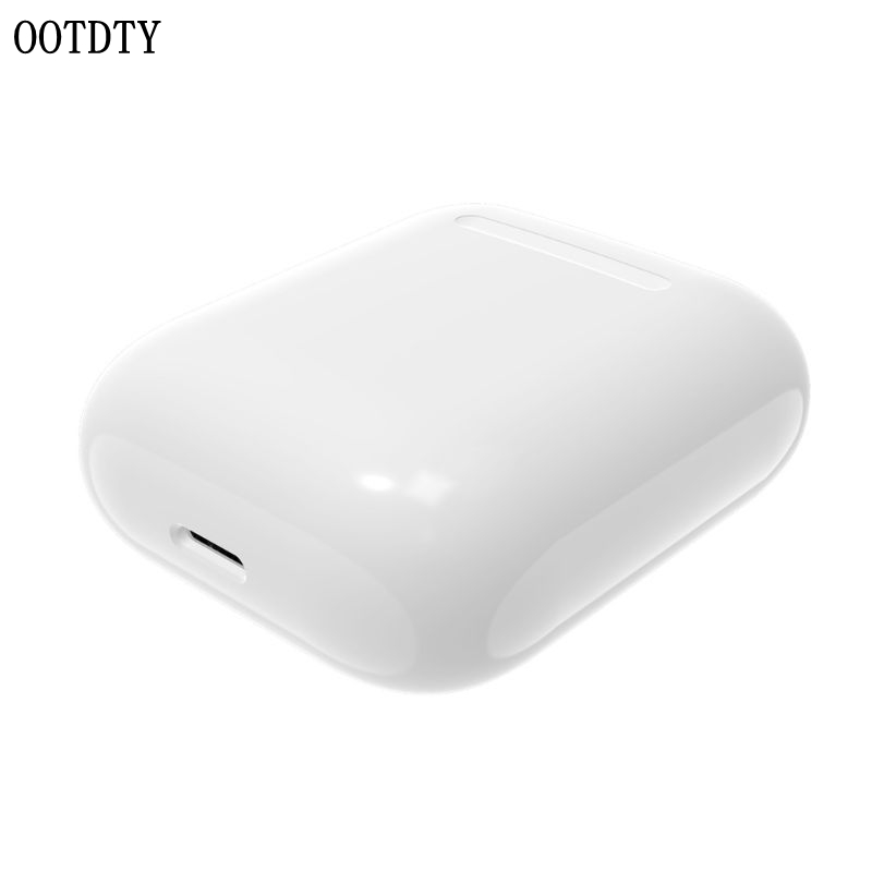 Built in 450mAh Wireless Charging Case Receiver Overload Protection Protective Case For Apple Airpods Bluetooth Headset Accessor-in Earphone Accessories from Consumer Electronics