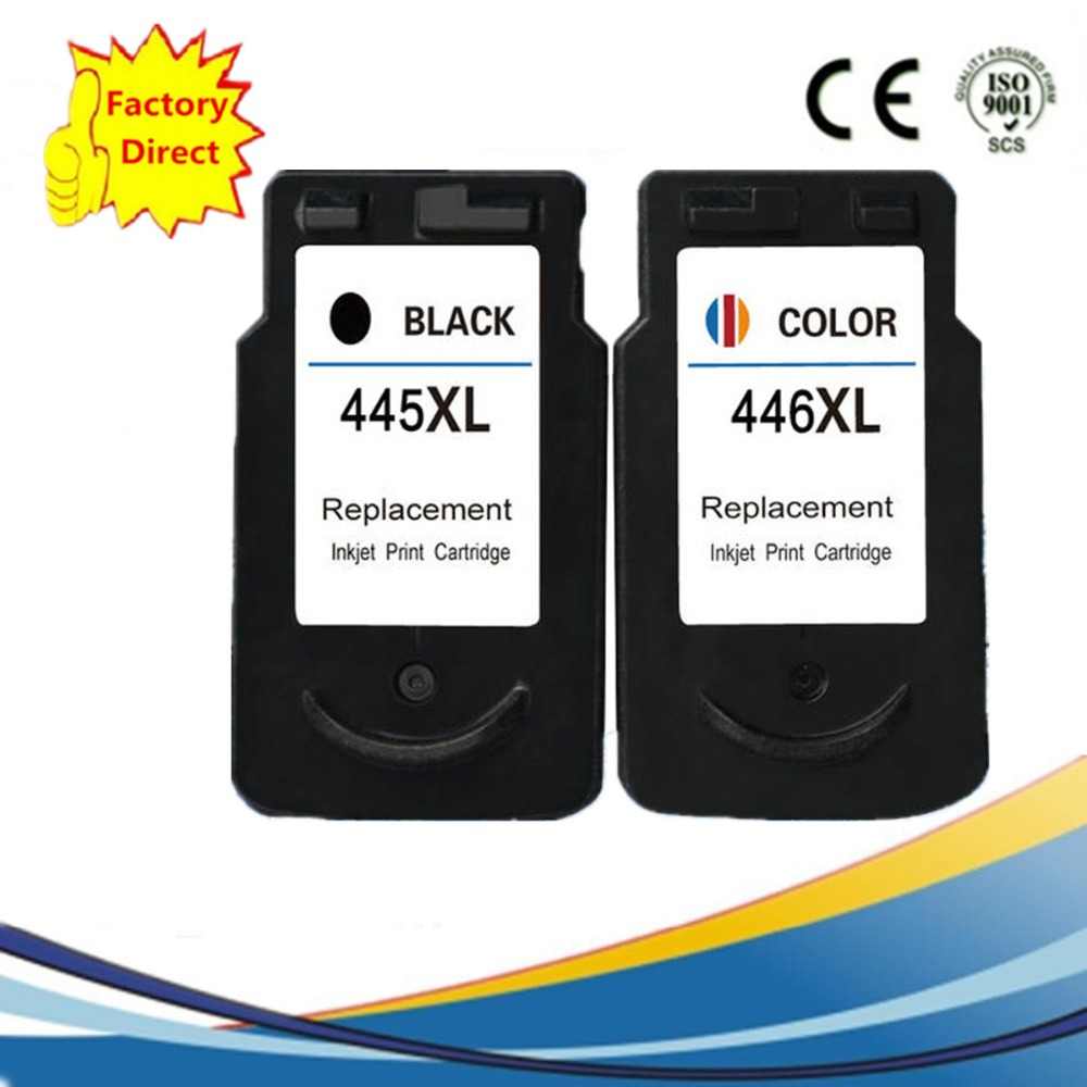 Pg 445 Xl Pg445 Cl446 Cl 446 Ink Cartridges Tinta Canon 47 Black Remanufactured For Pixma Ip 2840 Mx 494 Mg 2440 2540 2940 In From