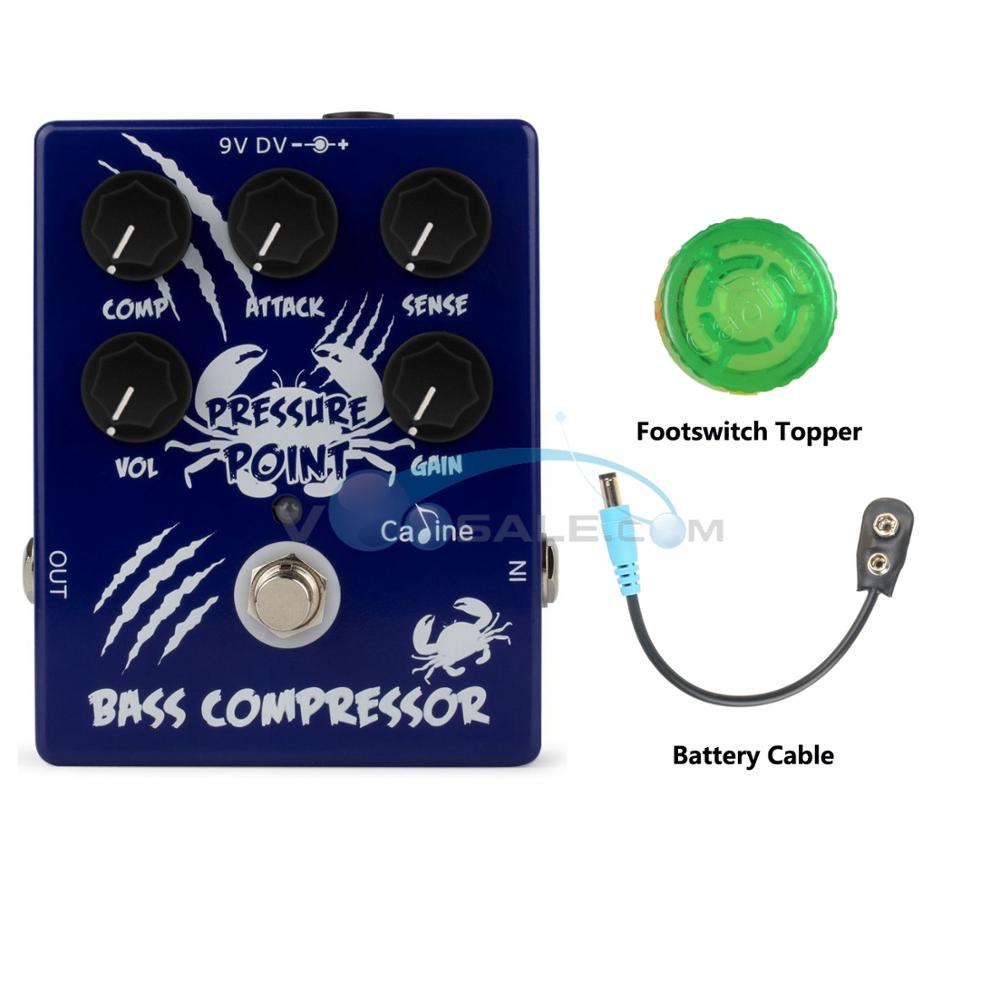 NEW Caline CP-45 Pressure Point Bass Compressor Guitar Effect Pedal Guitar Accessories Pedal Effect Guitar Pedal Guitar Parts