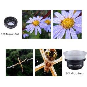 Image 5 - Apexelプロフェッショナル12x/24xマクロレンズ携帯電話カメラレンズスーパーマクロ用iphone 6 6プラスとすべてスマートフォン