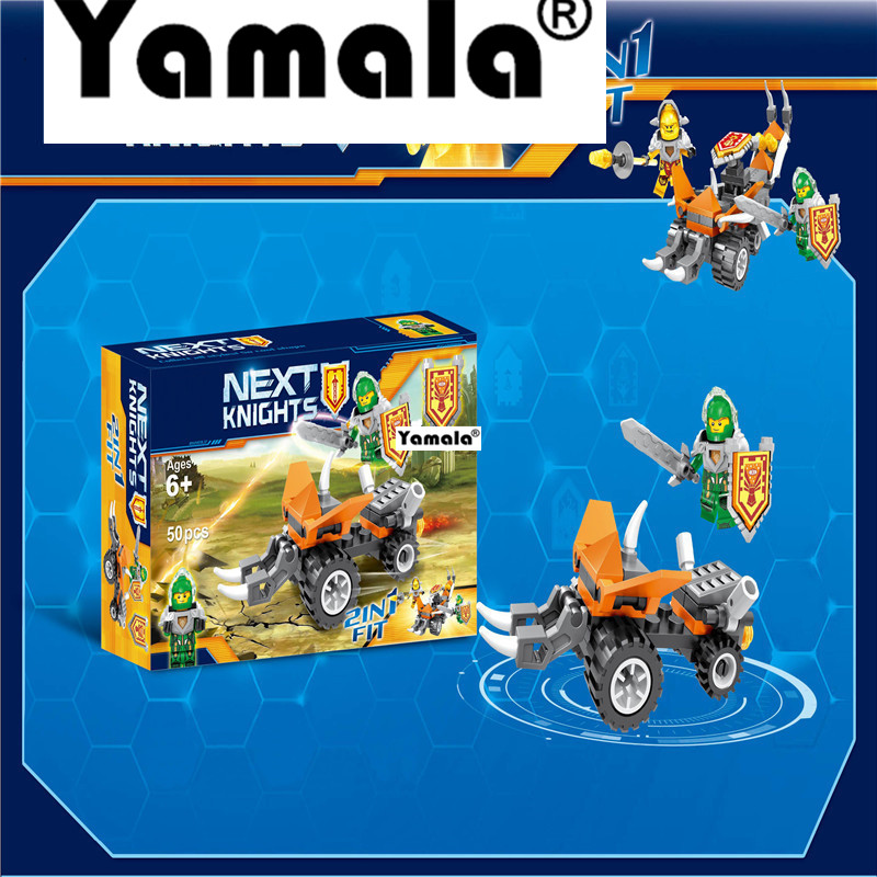 [Yamala]  Nexus Knights Future Knight Castle Warrior 2017 Building Block Bricks Kid Toys Compatible legoingly недорого