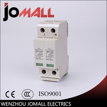 voltage protector surge protector in 20 kamp 385v ce ul approval sp d5 2p LBO 2P 20KA~40KA C ~385VAC House Surge Protector protection Protective Low-voltage Arrester Device
