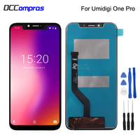 For UMI UMIDIGI One Pro LCD Display Touch Screen Digitizer Replacement For Umi One Pro Screen LCD Display Phone Parts Free Tools