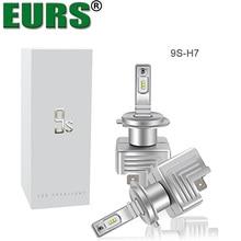 EURS 2 шт. 9 s H4 40 Вт 6000LM H4 светодиодный H7 H1 H11 H3 9005 9006 9012 высокое Мощность автомобиля грузовик светодиодный светильник белый автомобиль фар высокого/ближнего