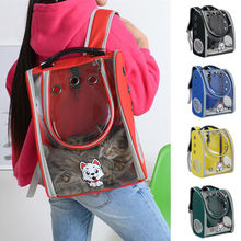 2019 Newest Pet Cat Dog Puppy Backpack Carrier Space Capsule Breathable Totes Carriers Bags