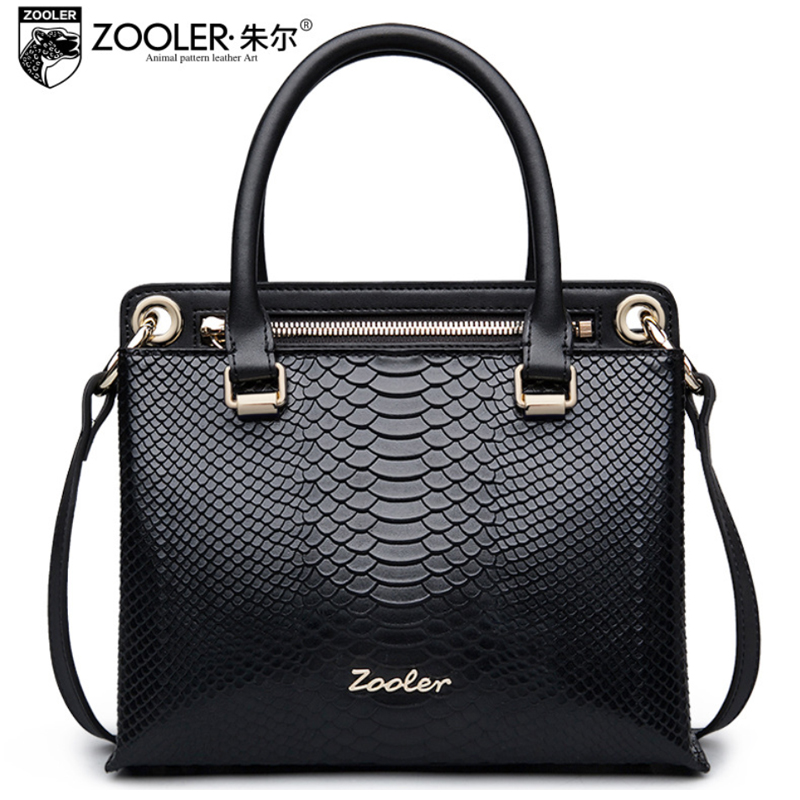 ZOOLER Business Lady Handbag Women Genuine Leather Bags Handbags Women Famous Brands Female Messenger Shoulder Bag Sac A Main women genuine leather bag weave sheepskin handbags women famous brands designer female handbag messenger bags shoulder bag sac
