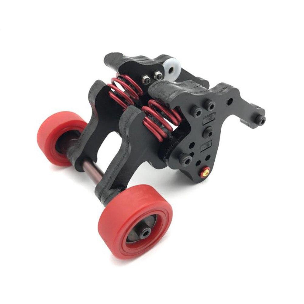 MASiKEN For 1:10 Scale Double Wheel Wheelie Bar Suitable For Traxxas EREVO E-REVO RC Car Upgrades Parts