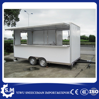 Продуктовая тележка с мороженым пищевые грузовики мобильный фургон прицеп для Еды Тележка для уличной торговли съестным тележкой для прод