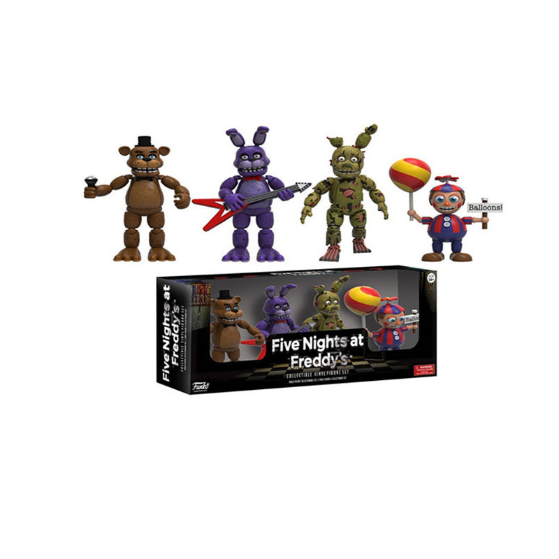 Image 4 - Funko POP Five Night At Freddy's FNAF Action Figures Toys Foxy Freddy FNAF sister location PVC model Toys for Children gift-in Action & Toy Figures from Toys & Hobbies