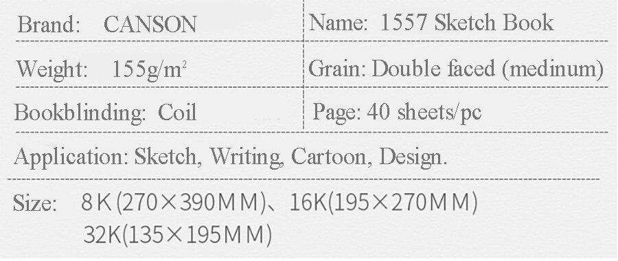 k 32 k sketchbook 40 folhas de