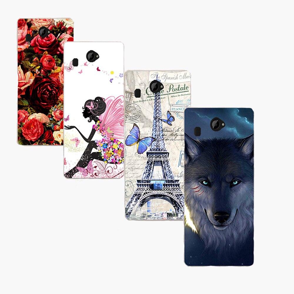Colorful Plastic Hard PC Case For Fly IQ4501 IQ4516 IQ4414 IQ455 IQ446 Cover Painting Case For Fly IQ4410 FS451 Case Cover