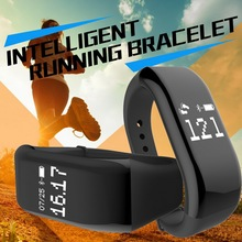 Bluetooth Smart Bracelet Heart Rate Monitor IP67 Sport Fitness Tracker Wristband For Android IOS Phone