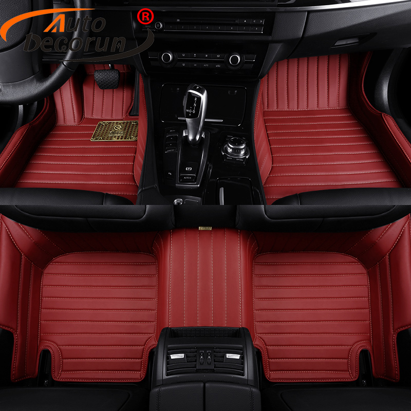 Custom Fit Floor Mats >> Us 352 8 51 Off Autodecorun Custom Fit Floor Mats Cars For Volvo Xc60 S60 S80 C30 Xc90 V60 V40 Car Mats Pvc Leather Carpets Interior Car Styling In