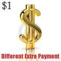 Diferença de pagamento para a ordem em nossa loja
