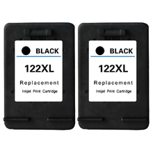 2Pk For HP Cartridge 122 Black Ink Cartridge For HP Deskjet 1000 1050 1050A 2000 2050 2050A 3000 3050 3050A Cartridge For HP 122 4 for compatible hp 301 xl deskjet 1000 1050 1050a 1055 2050 2050a 3000 3050 3050a 3052