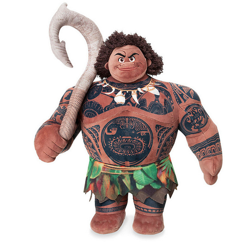 Marine romance Moana princess Moana doll Maui Plush toy Doll
