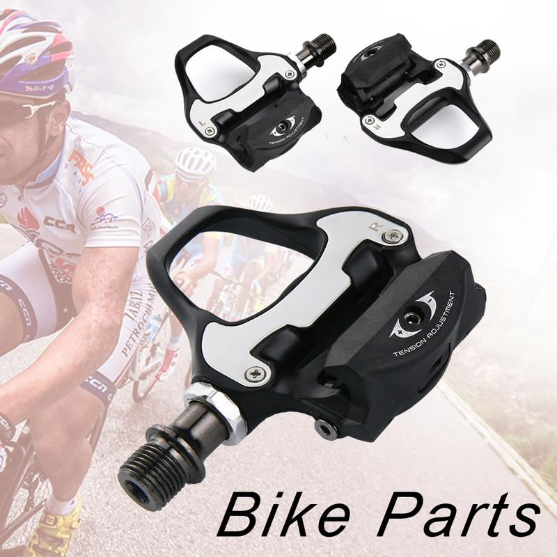 RIDECYLE RD2 Bicycle Lock Pedal Self Locking Foot Locking Buckle Set Click Pedal Bicycle Accessories Bike Pedals Spd цена