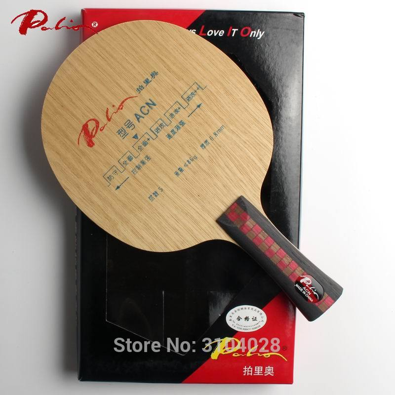 Palio Official ACN Table Tennis Blade 5ply Pure Wood Allround Good For Training Loop Good In Control Suit For New Player
