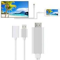 8 Pin Do kabla HDMI HDTV TV Cyfrowy Adapter AV Video Kabel HDMI HDTV Inteligentnych kabel do Apple TV dla iPhone 7 6 6 S Plus ipad Mini 2 3 4