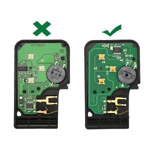 Image 4 - OkeyTech Chip con hoja de inserción de emergencia llave remota inteligente, 3 botones, 433Mhz, ID46, PCF7947, para Renault Megane Scenic 2009 2016