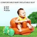 Bebê portátil Assento Infantil Inflável Confortável Assentos de Crianças PVC Imprensa Alimentação Inflável Assentos de Jantar/Assento Do Sofá Multifuncional
