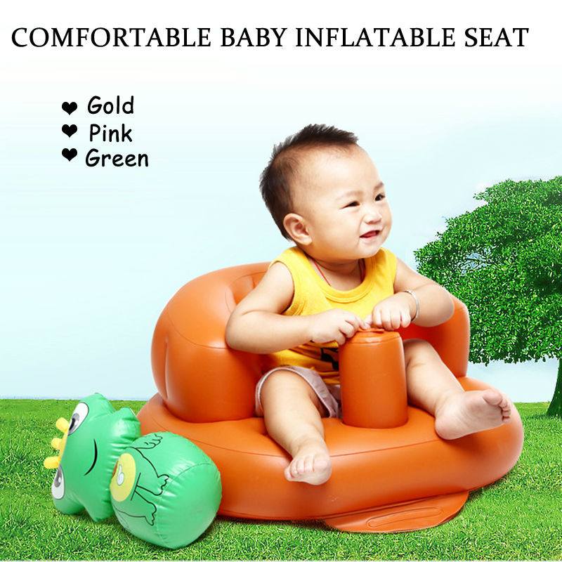 Inflatable Seat Sofa: Portable Infant Seat Baby Comfortable Inflatable Seats