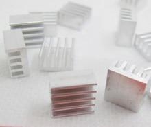 20pcs Reprap pololu StepStick heatsink Aluminum cooler heat dissipation for drv8825/A4988/A4983/TMC2100/LV8729 stepper driver