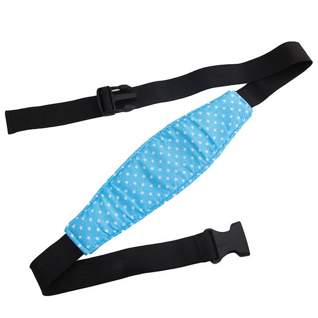 Baby Head Support Pram Safety Seat Fastening Belt Adjustable Infant Playpens Sleep Positioner bebek arabasi