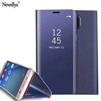 For Samsung J5 2017 Case Luxury Glitter Bling Mirror Hard Plastic Flip Phone Case For Galaxy