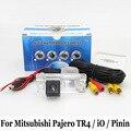 Câmera de estacionamento para mitsubishi pajero tr4/io/pinin/rca AUX Fio Ou Sem Fio/Câmera de Visão CCD HD Noite câmera de Visão Traseira Auto