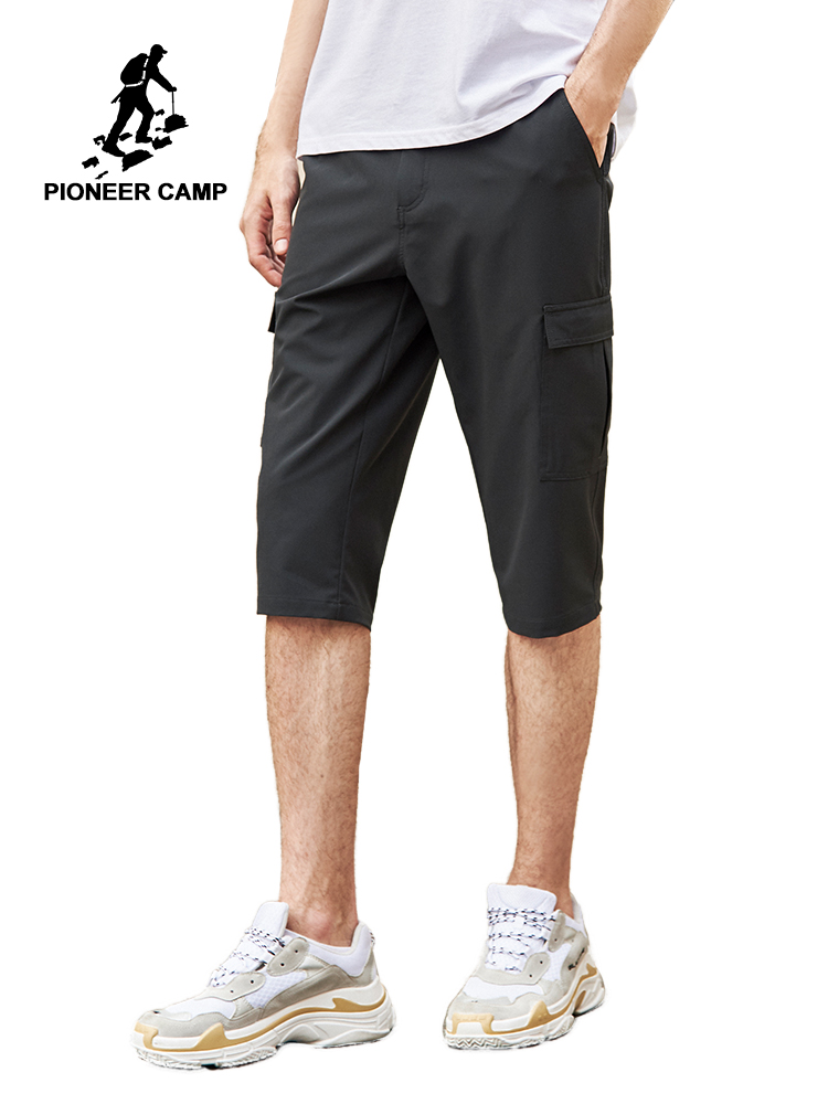 Pioneer Camp Summer Men Shorts Brand Quick Drying Short Pants Shorts Homme Outwear Shorts Men slim fit AXX902151