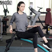 Athletic Print 3 Piece Yoga Sets Gym Fitness Clothing Women Running jogging Suit Workout Tight Activewear Sports Wear Promotion