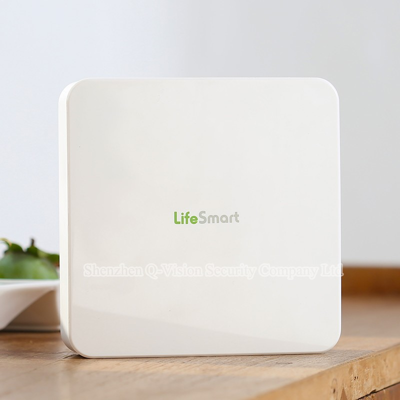 1--Lifesmart Smart Station Top Brand RF433MHz Wireless Smart Home Automation System WIFI Remote Control via VIA IOS Android Phone