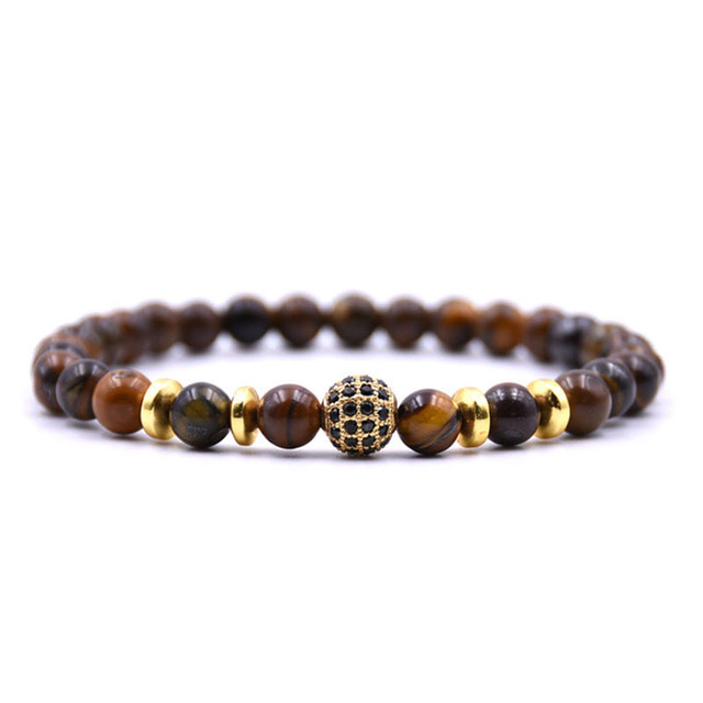 Noter 6mm Tiger Eyes Beads...