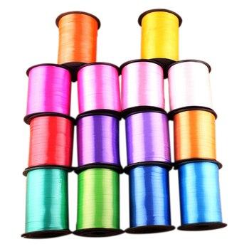 250 yardas 5mm DIY globo cinta decoración de la boda al por mayor regalo embalaje cintas de Navidad