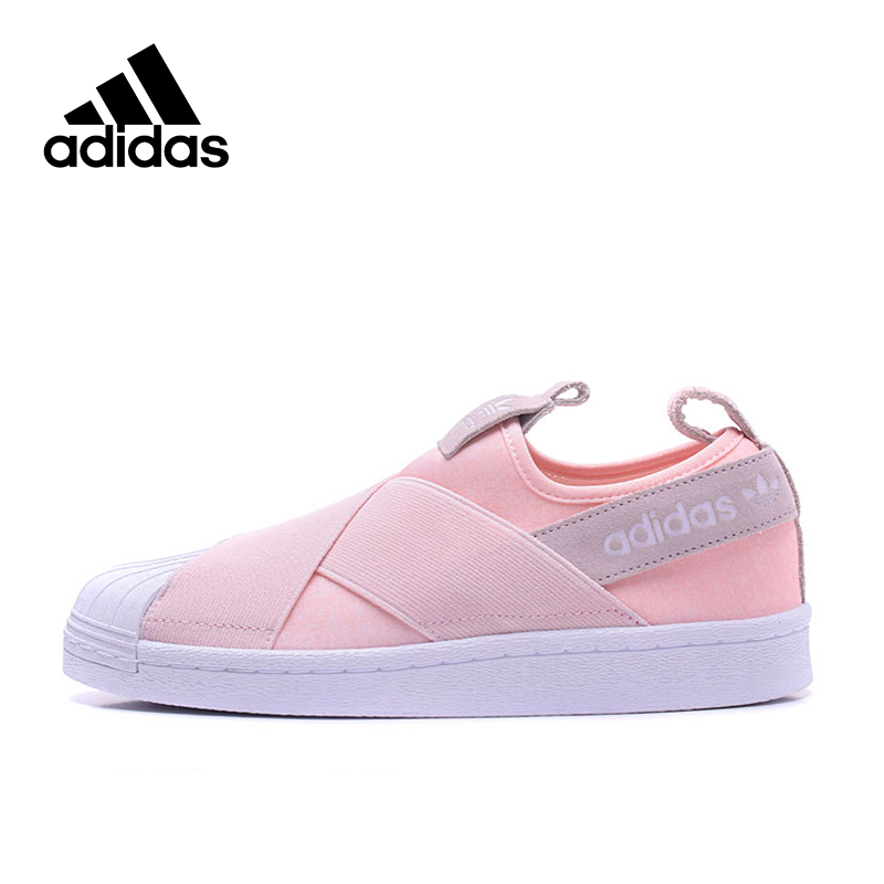 Adidas New Arrival Official Authentic 2017 Year Originals Women's Leisure Skateboarding Shoes Sneakers S76408 S76407 adidas original new arrival official originals s s camo color men s t shirts short sleeve sportswear cd1696