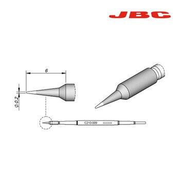 Jyrkior Jbc ̠�밀 C210 ˂�땜 ̝�두 ͌� 210-020 210-001 210-009 ̚�접 ̞�업을위한 ̛�추형 ͌� ̛�래 ̚�접 ˅�즐