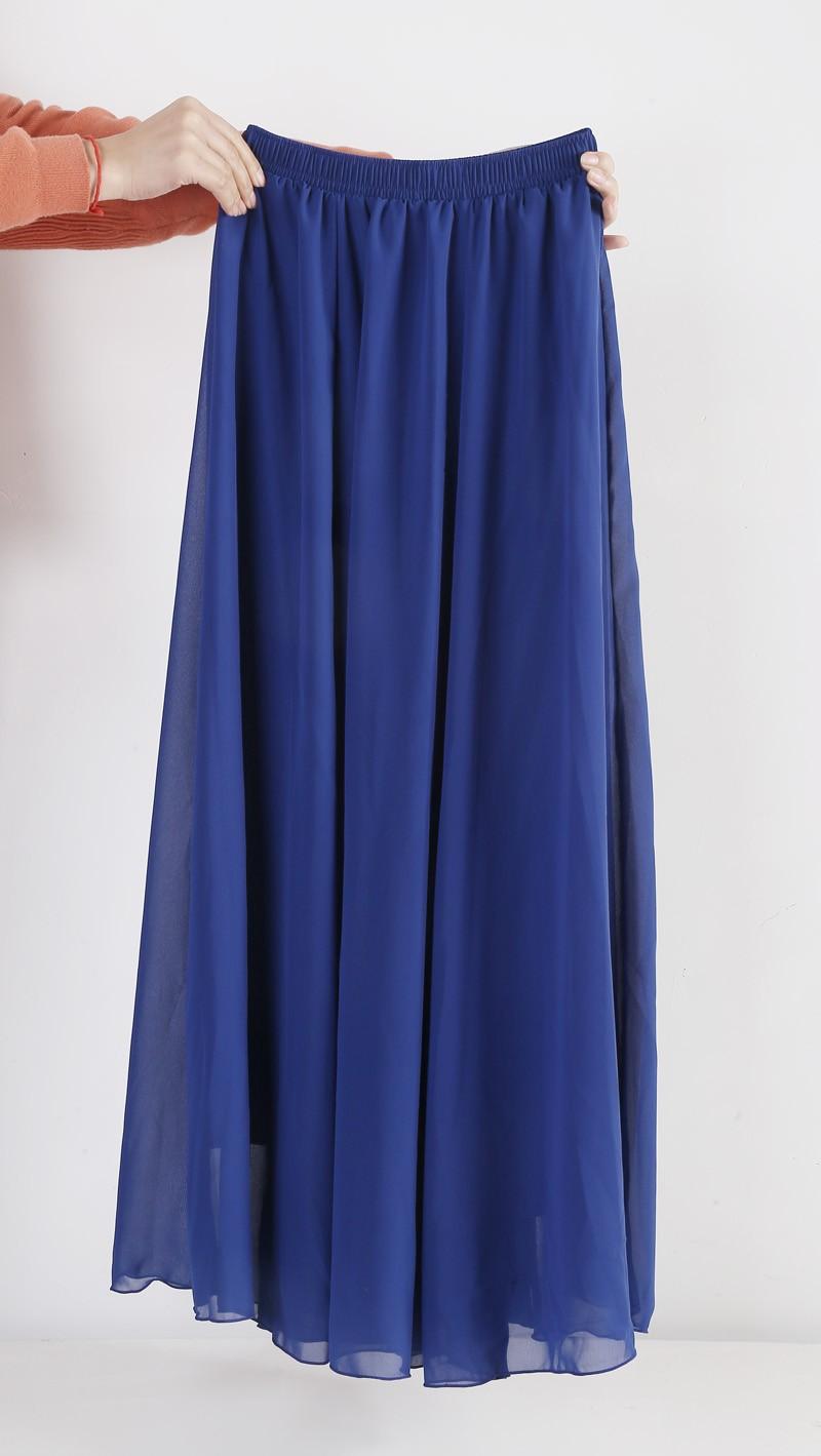 Maxi skirt free shipping-4108