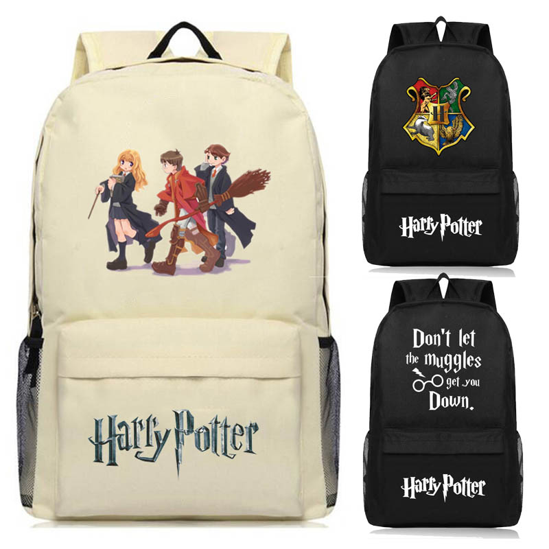 Eerlijkheid Harry Potter Hogwarts Rugzak Schooltassen Boek Kinderen Tas Mode Studenten Rugzak Reistas Voor Tieners
