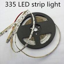 LED 335 Dải đèn LED ánh sáng cao SMD335 dải ánh sáng 5MM PCB board 60Led/M ấm áp Bên Trắng phát ra Dải ĐÈN LED Ánh Sáng 120LED/M
