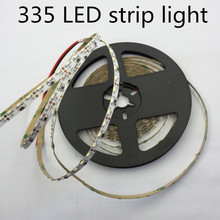 LED 335 רצועת אור LED גבוהה אור SMD335 רצועת אור 5MM PCB לוח 60led/m חם לבן צד פולטות LED רצועת אור 120led/m