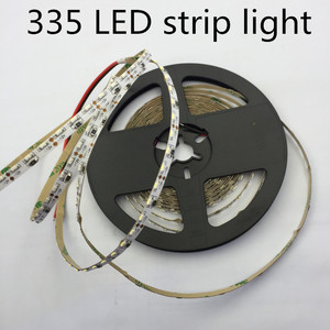 Image 1 - LED 335 luce di Striscia LED ad alta luce SMD335 luce di striscia 5 MILLIMETRI PCB bordo 60led/m bianco caldo Lato LED che emette Luce di Striscia 120led/m