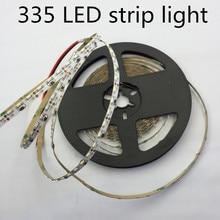 Led 335 스트립 빛 led 높은 빛 smd335 스트립 빛 5mm pcb 보드 60led/m 따뜻한 흰색 측면 발광 led 스트립 빛 120led/m