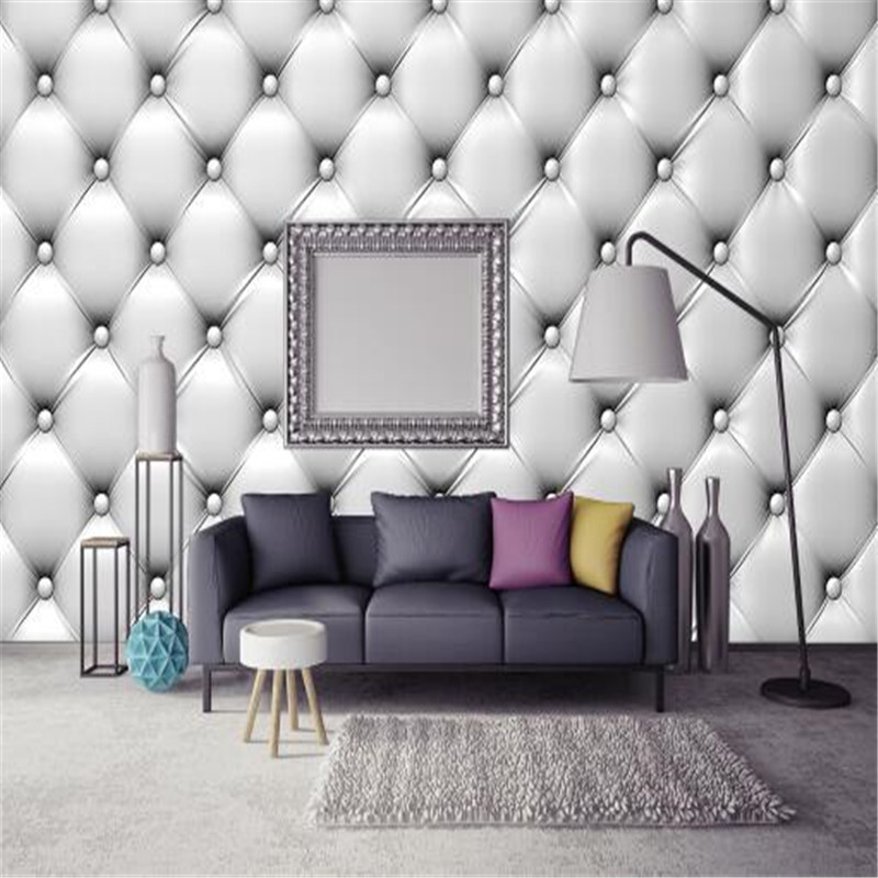 European Modern Murals Silver Wallpapers Roll Soft Wall Papers 3D Luxury Hotel Non-woven Wallpapers for Living Room Home Decor milan classical wall papers home decor non woven wallpaper roll embossed simple light color living room wallpapers wall mural