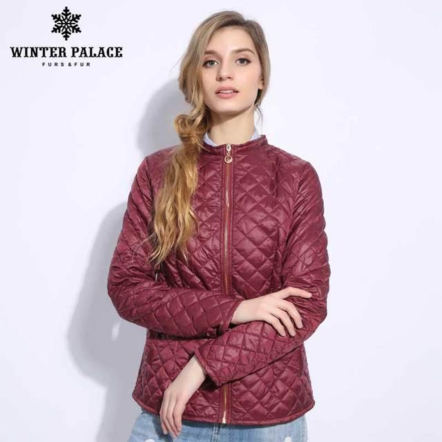 Femmes Femmes Femmes Mince 2018 Style Mode Couleur Couleur Couleur Couleur Manteau Vin Coton Slim De wXwaPFq