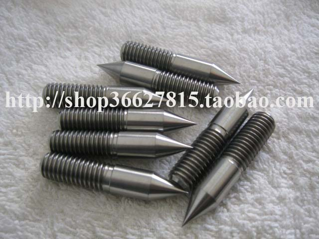 M10x50 Gr5 <font><b>Titanium</b></font> alloy thread needle nail <font><b>screw</b></font> image