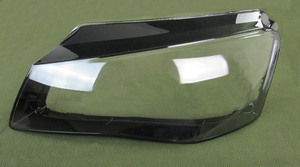 Image 2 - For Audi A8 11 13 Front Headlight Shade Headlight Transparent Shade Headlight Shell Lampshade Headlamp Cover Shell glass