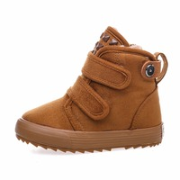 2017 Kids Baby Toddler Shoes Child Winter Warm Snow Boots Shoes Plush Thicker Sole Boys Girls