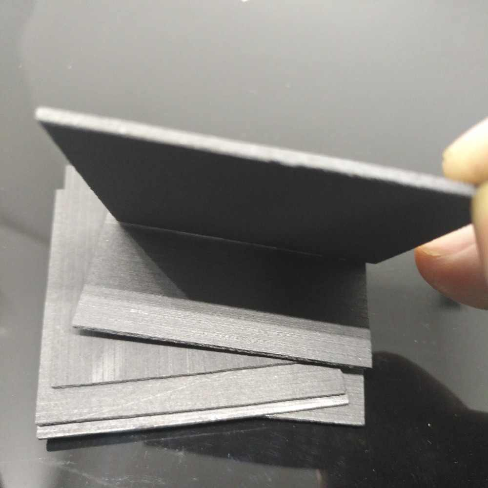 50x50x1mm High pure carbon graphite sheet anode plate for EDM electrode ,  electrolysis plate