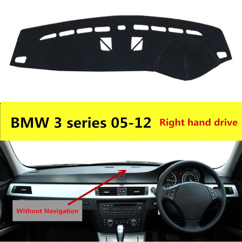 TAIJS Car Dashboard Mat Pad For BMW 3series Right Hand